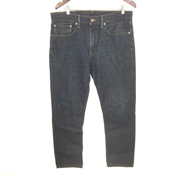 3aff24e6 Levi's Jeans   Levi 502 Regular Taper Fit Dark Wash 34x29   Poshmark